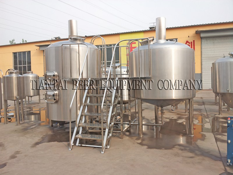 <b>3500L Hotel Craft Beer Brewing Equipment</b>