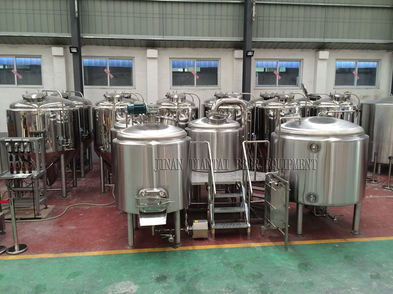 <b>7BBL Hotel Craft Beer Brewing Equipment</b>