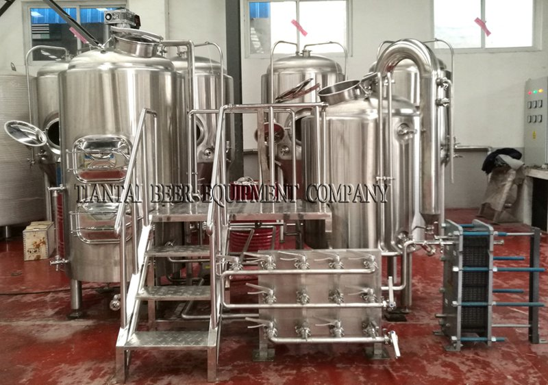 <b>5 bbl Hotel Micro Brewing Equipment</b>