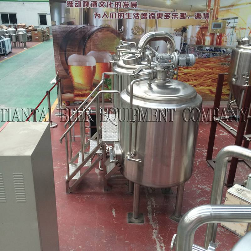 <b>4 bbl Brewpub Craft Brewing Equipment</b>