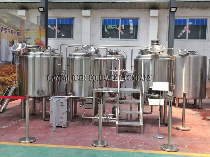 <b>8 bbl Hotel Micro Brewing Equipment</b>