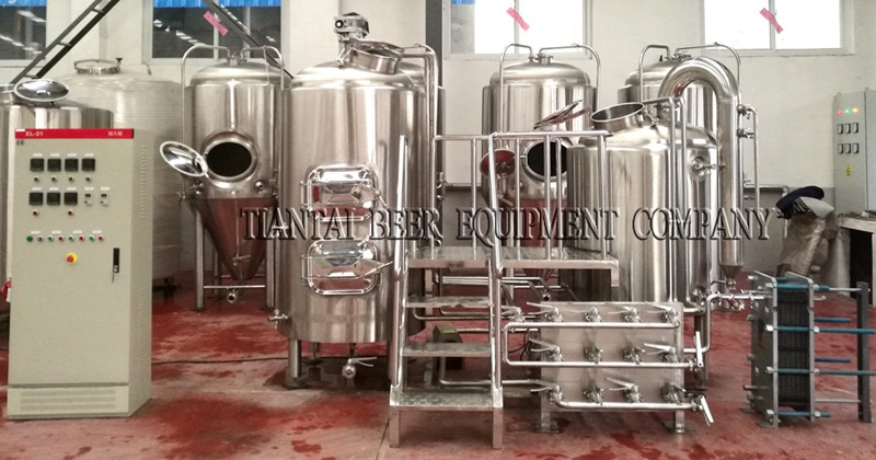 <b>500L Hotel Craft Beer Brewing Equipment</b>
