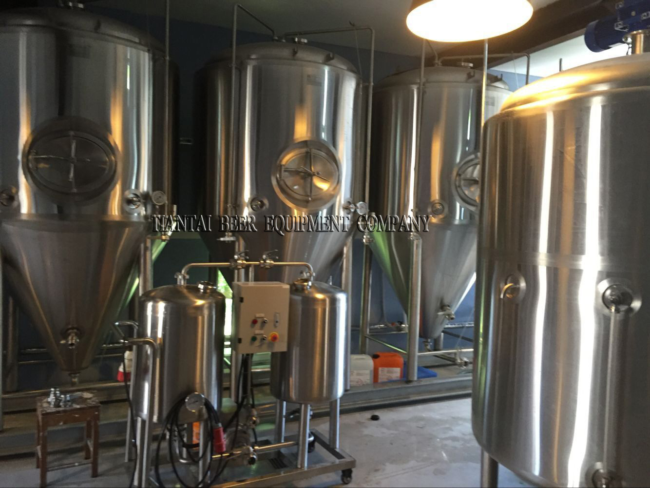 <b>1000L Germany brewery system  finished installation</b>