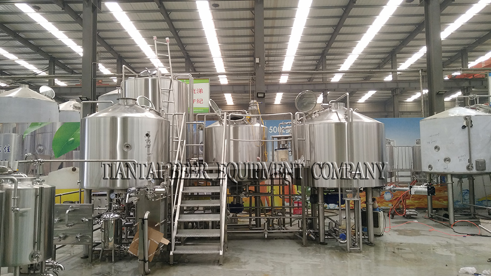 <b>15BBL beer brewhouse for Canada brewery</b>