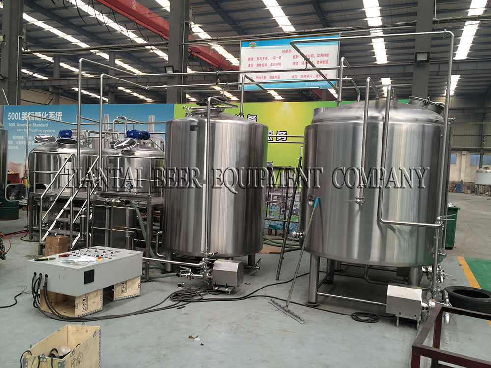 <b>China 2000L brewery system in Qingdao</b>