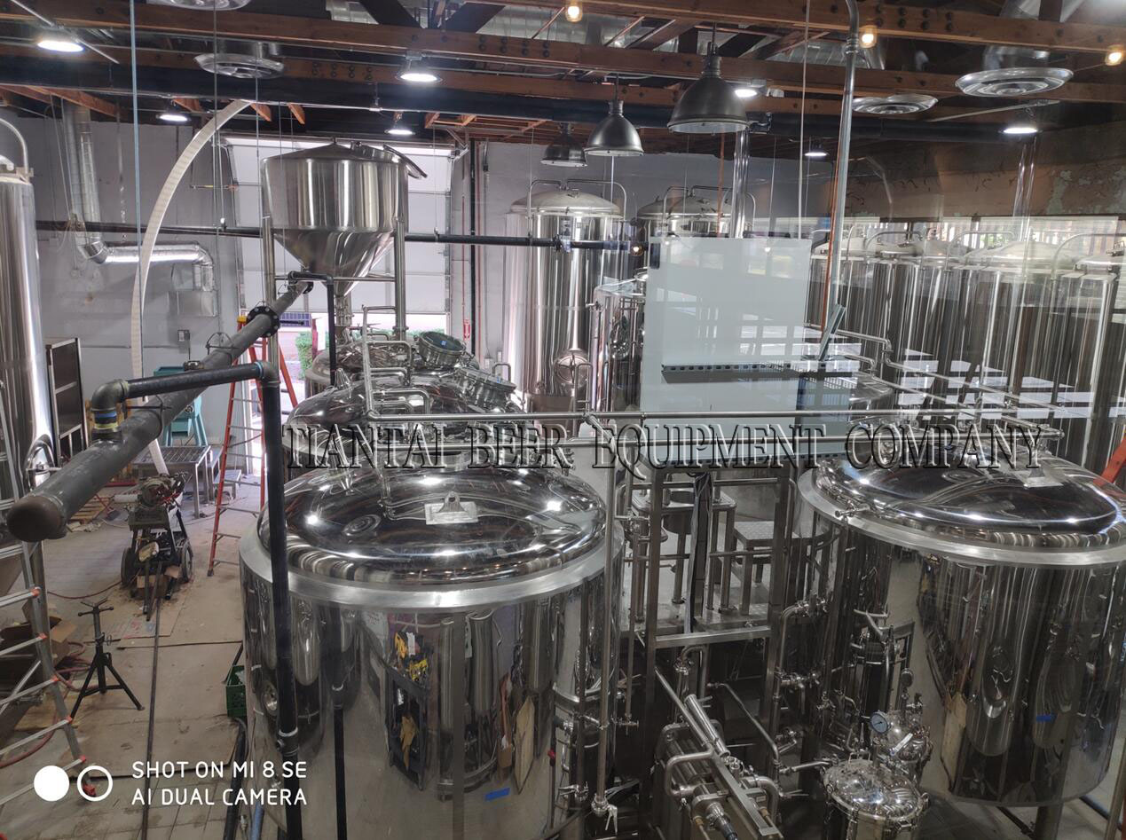 <b>America 20BBL beer brewery system instalaltion</b>
