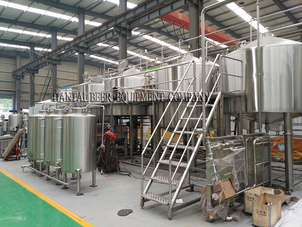 <b>5000L microbrewery for Finland customer</b>