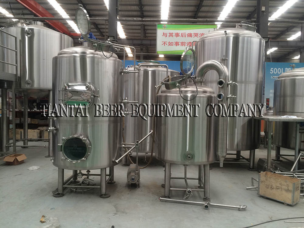 <b>500L Germany beer brewing equipment</b>
