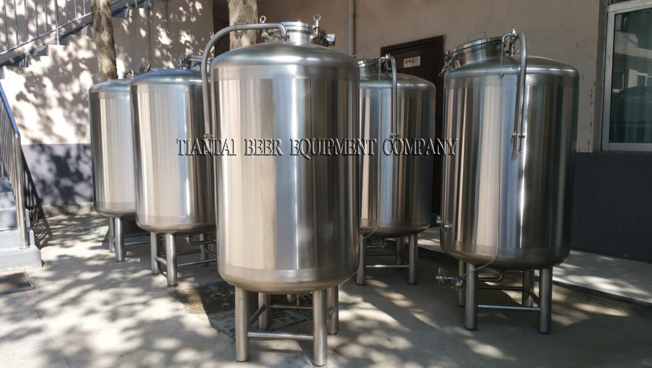 <b>Single layer 500L bright beer tank</b>