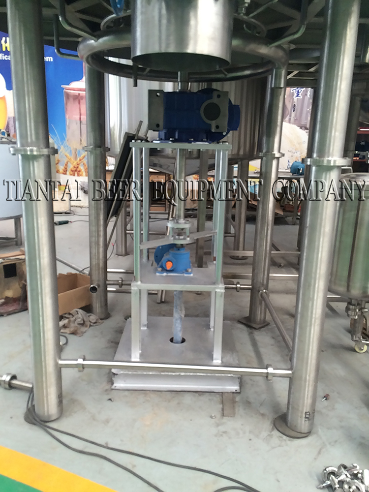 <b>Bottom Grain rake for 3000L Germany lauter tank</b>