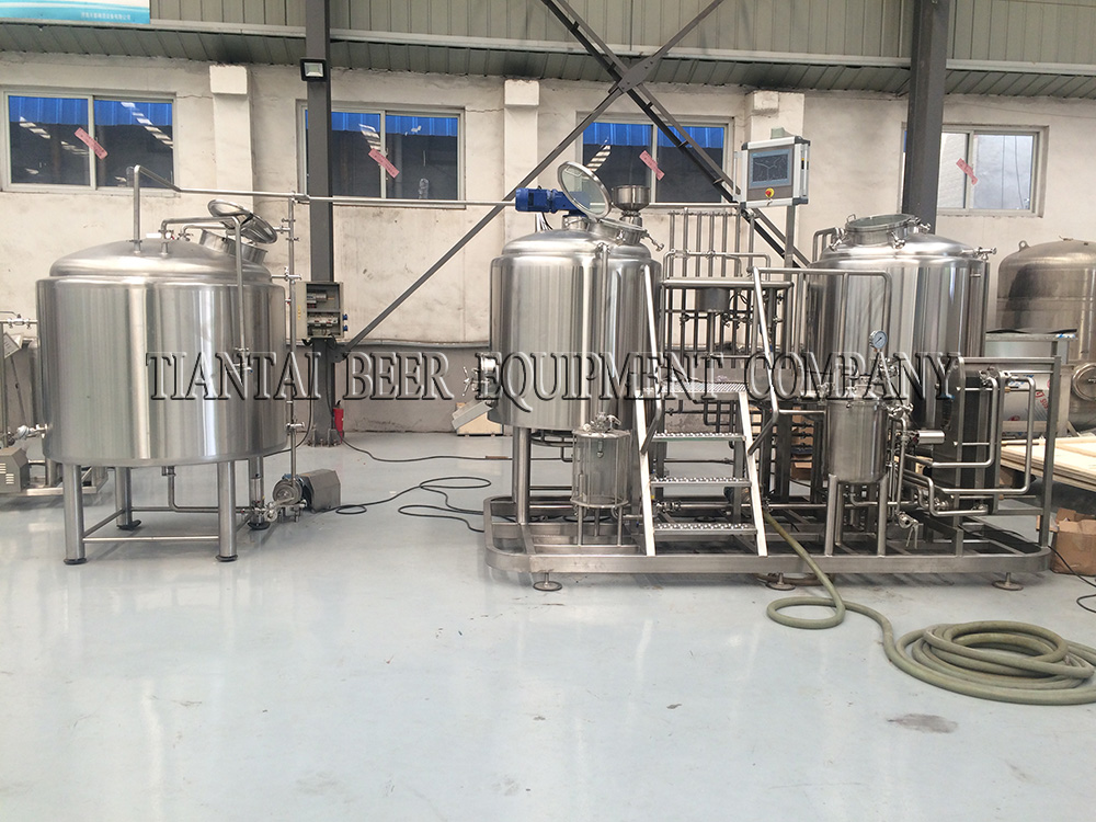 <b>Germany 500L brewery system</b>