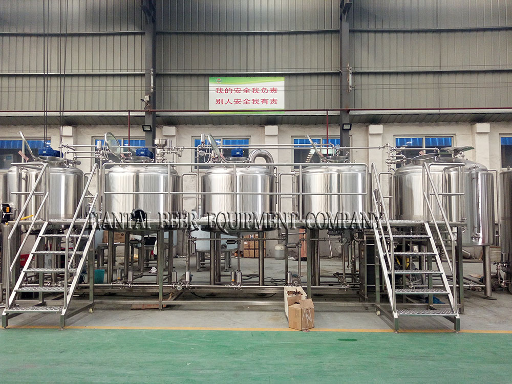 <b>Another set 1000L brewery system for Korea</b>