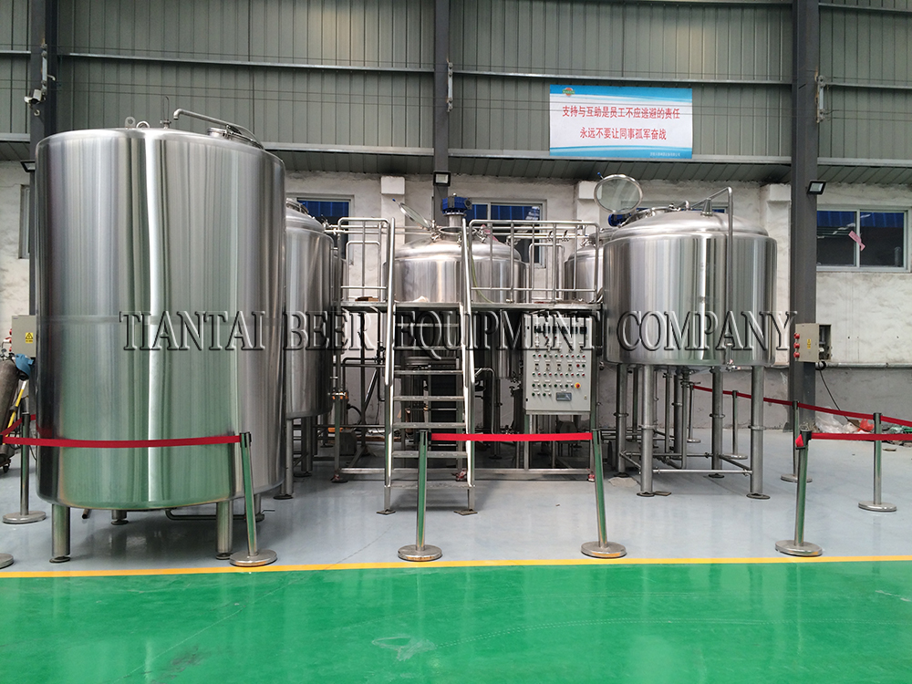 <b>15BBL Hotel Craft Beer Brewing Equipment</b>
