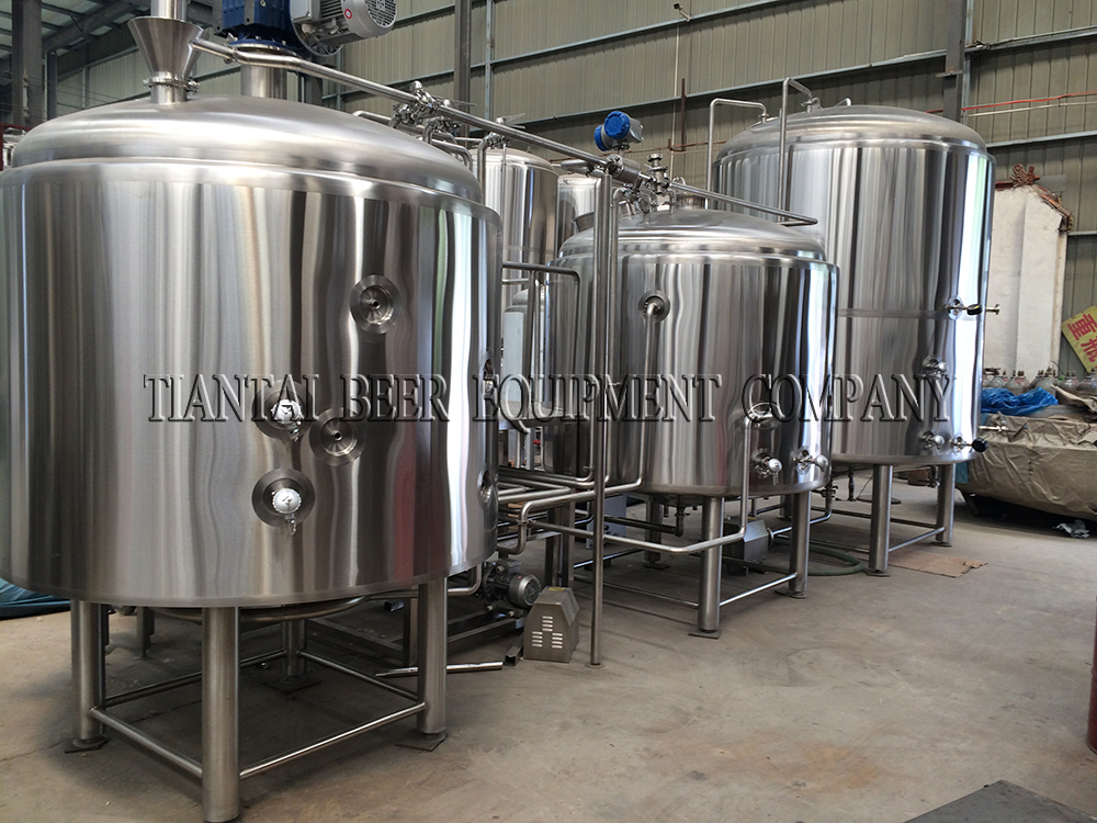 <b>Unite state 2000L brewery equipment with steam heating</b>