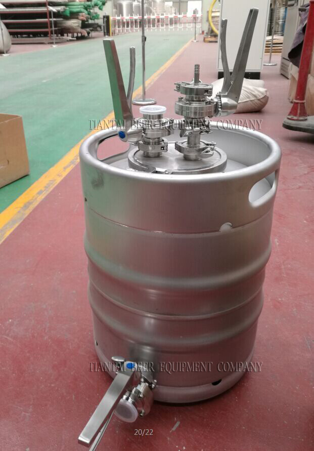 <b>Yeast feeder for brewhouse</b>
