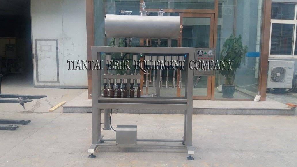 <b>6 head automatic beer bottling machine</b>