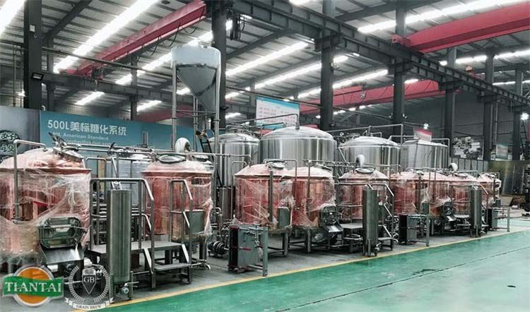 <b>Shandong Tiantai Beer Equipment End-Of- Year Sales</b>