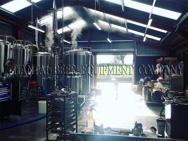 <b>1000L Micro brew system installed in Ireland Brewery</b>
