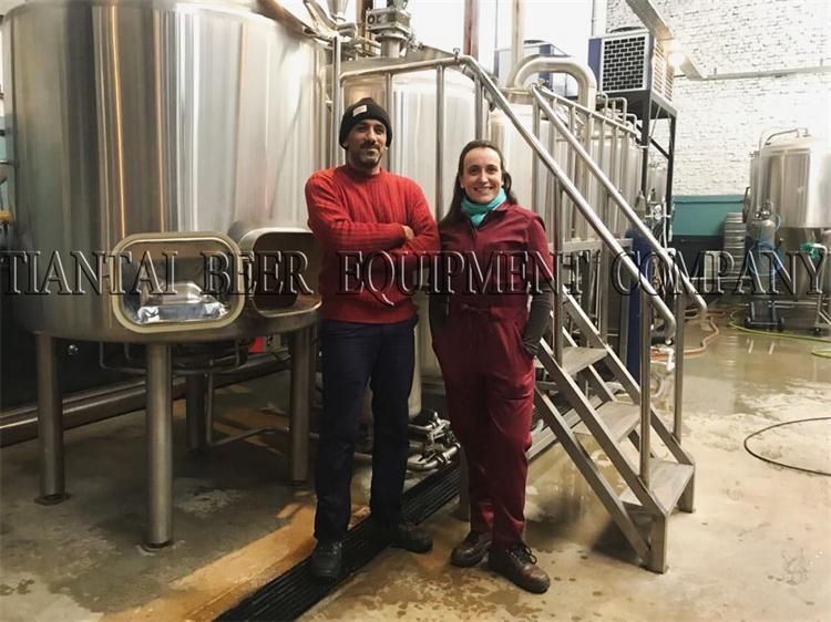 <b>10bbl brewing system for Argentina customer</b>