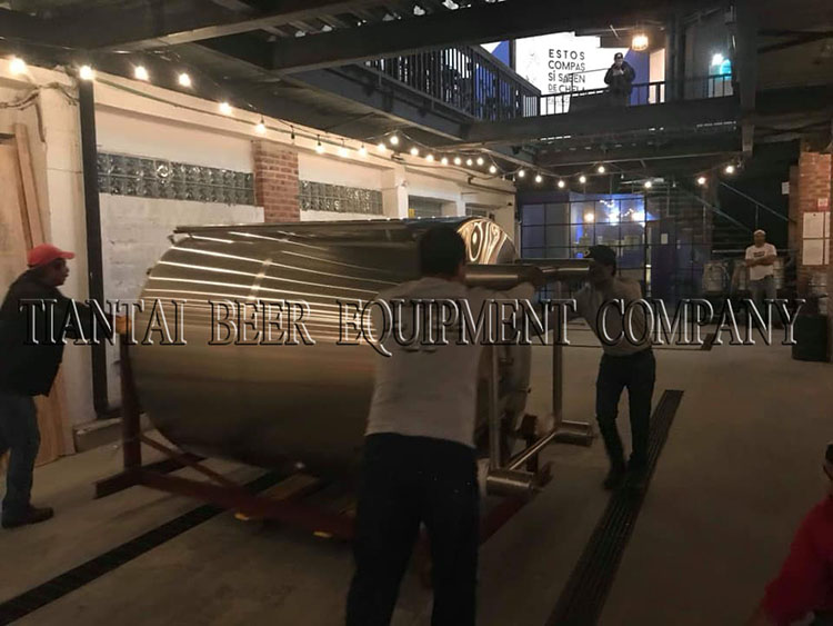 <b>10BBL Micro Brewery System Arrived At Mexico</b>