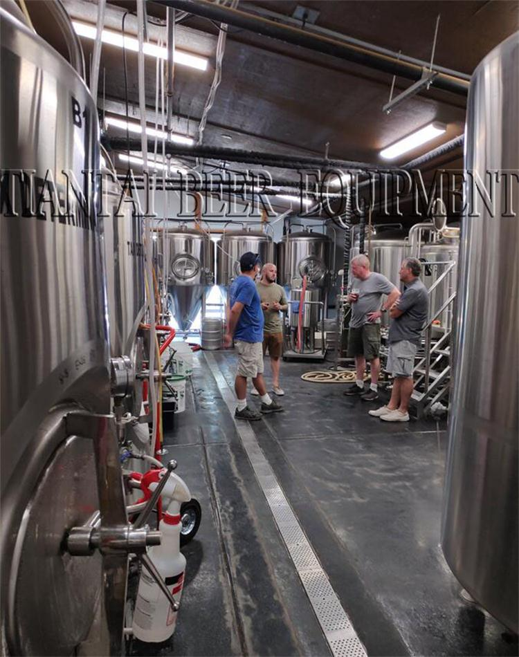 <b>American customer Adding 20bbl Mirror brewery system again</b>