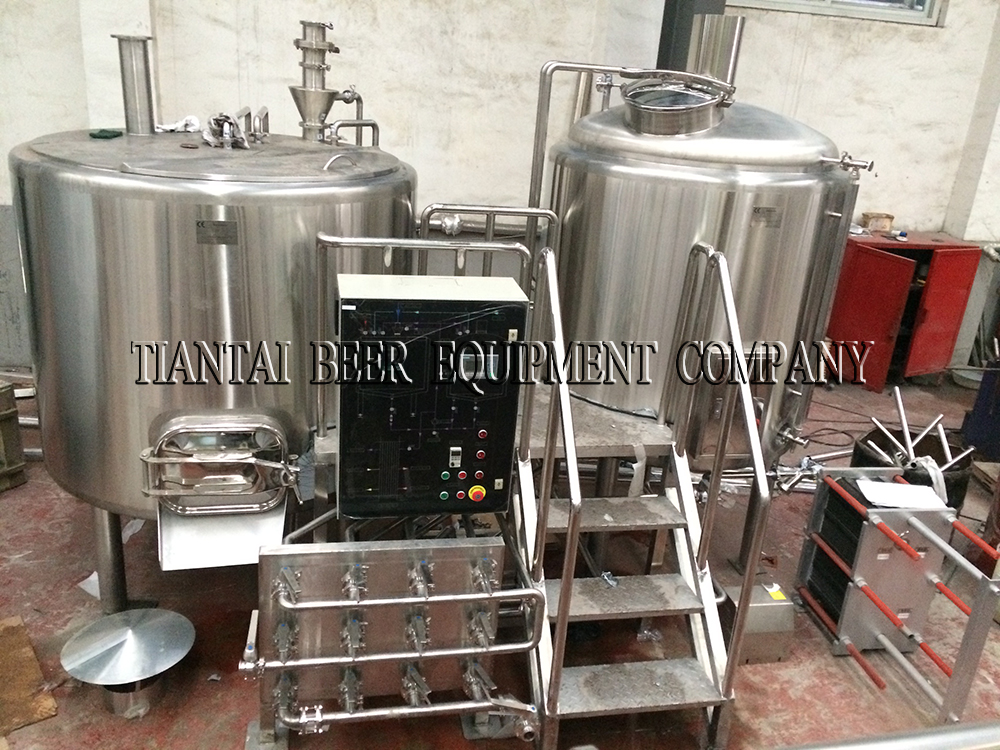 <b>Our Canada 1200L brewery system shipped last month</b>