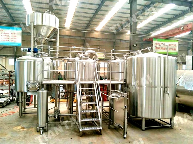 <b>1800L two vessels brewhouse are ready for shipping</b>