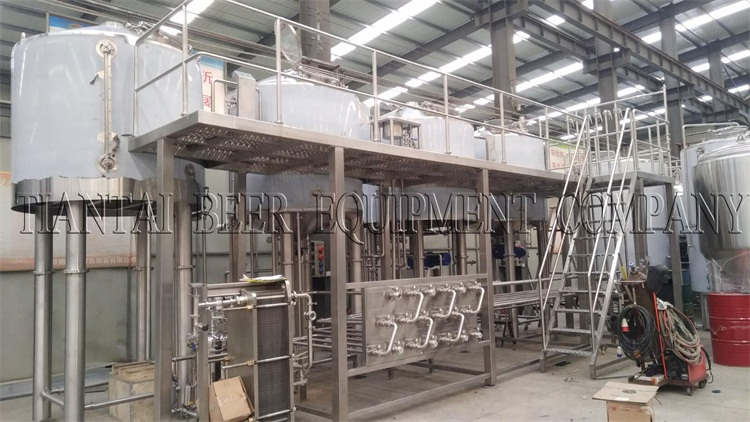 2000L Brewhouse finished for 2018CBB in China