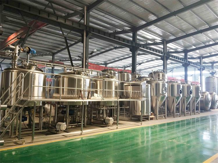 <b>Korea 2000L Brewery System Is Waiting For Home</b>
