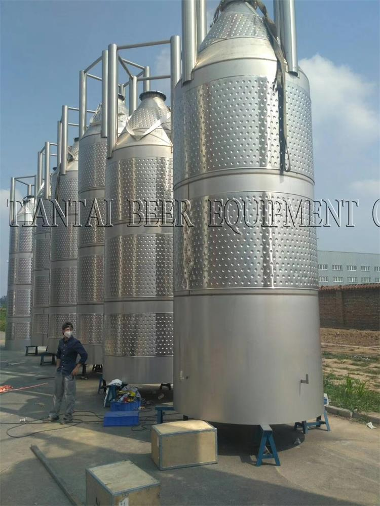 20T fermentation tanks manufacture in Tiantai