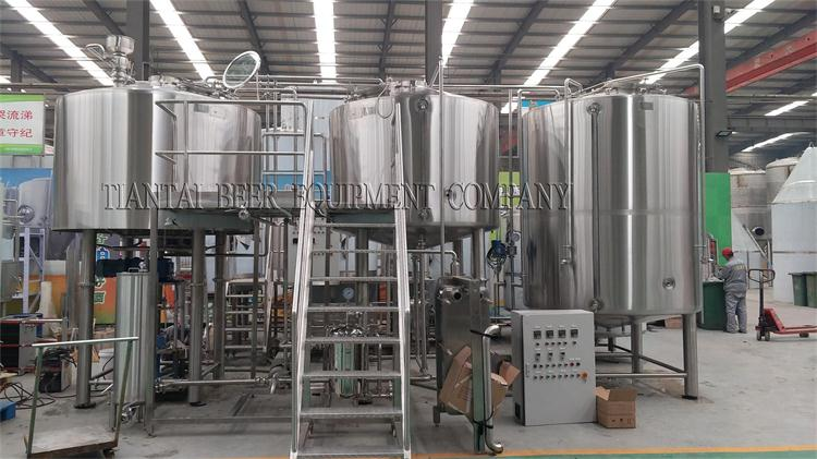 <b>2500lts brewing system finished for Argentina customer</b>