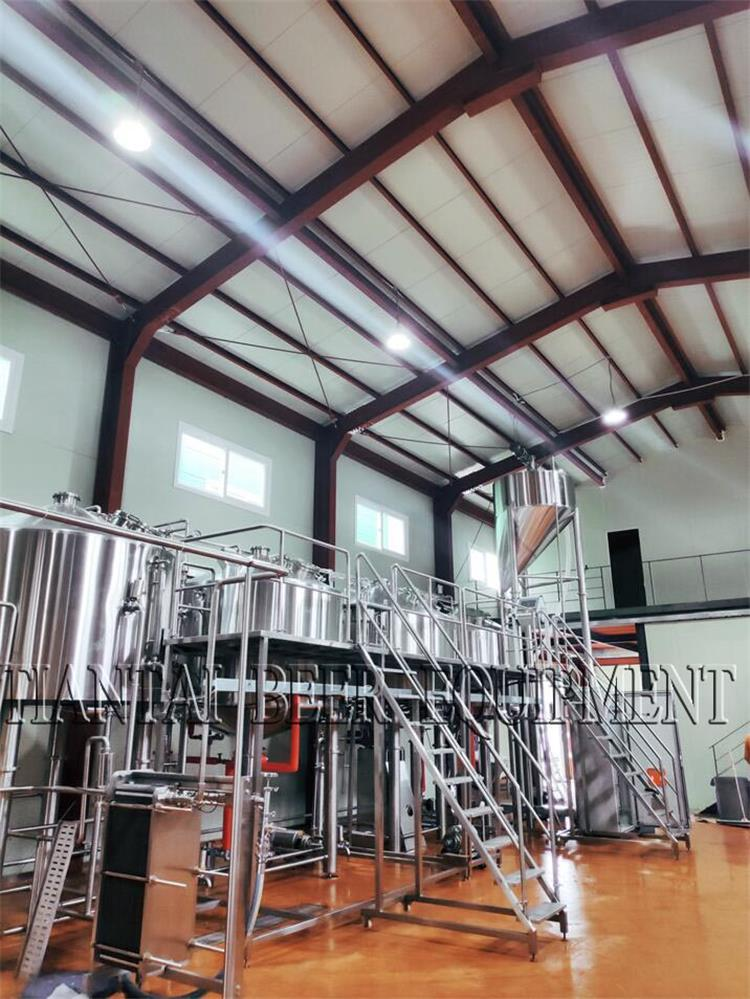 <b>3000L Microbrewery is installed in Korea</b>