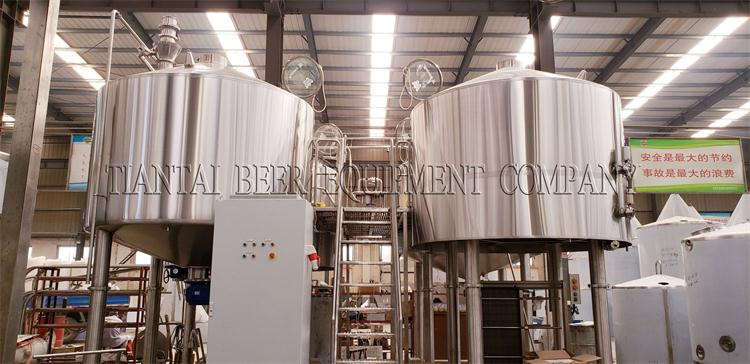 <b>5000L 4 vessel brewery equipment for Korea customer</b>