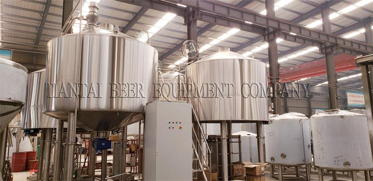 <b>5000L Commercial Brewery System Shipping To Russian</b>