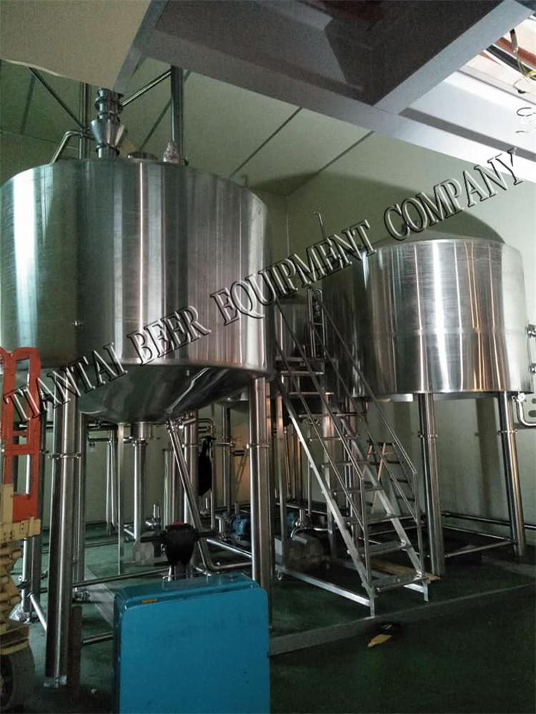 <b>5000L Brewhouse with 10,000L FV Installing In Korea</b>