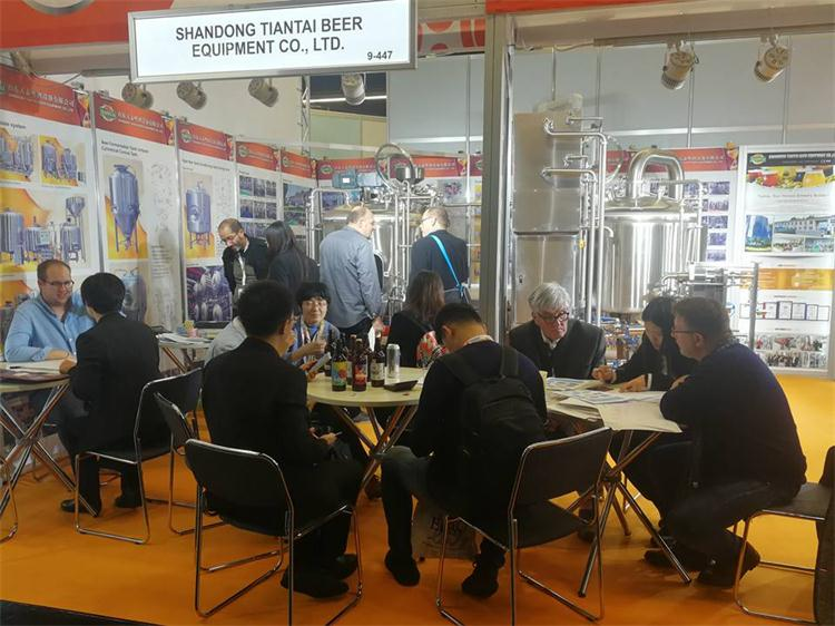 <b>Celebrate the successful conclusion of the Nuremberg Exhibition for Shandong Tiantai Beer Equipment</b>