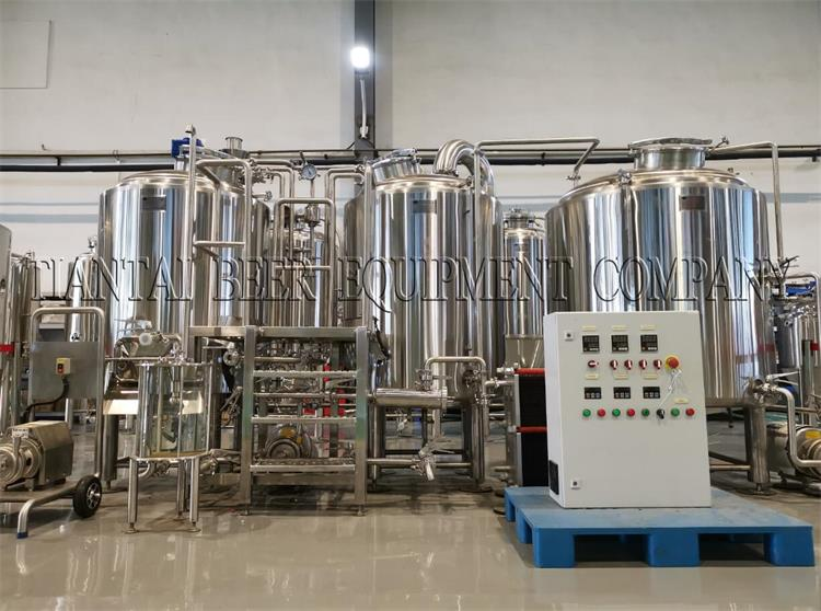 <b>5BBL Brewery System Finished to Mexico</b>