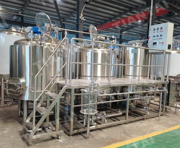 <b>Micro Brewery System 7BBL Two Vessel Brewhouse</b>