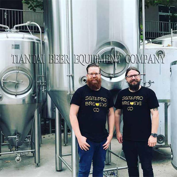 Feedback from Australia 1000L brewhouse