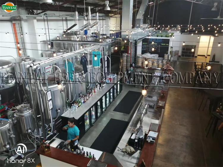 <b>1200lts beer brewing system has finished installation in Australia</b>