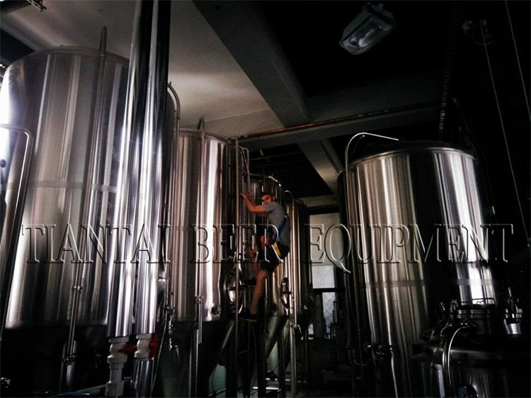 <b>2000L Brewhouse finished In Brisbane Brewing Co.</b>