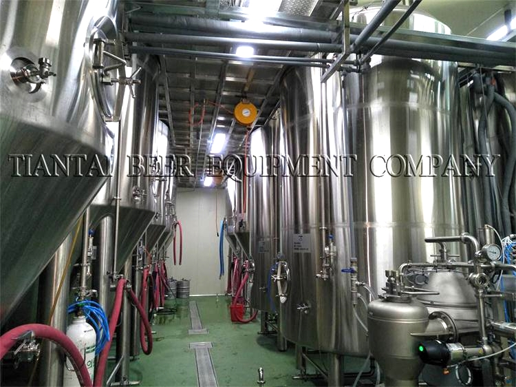 <b>5000L Commercial Brewery In Korea</b>