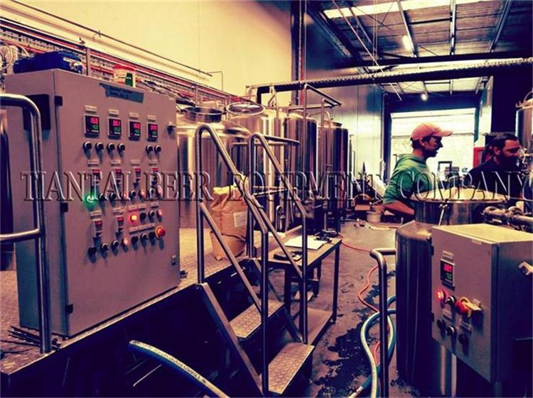 <b>Starting to brew beer in Australia with 1000L brewery system</b>