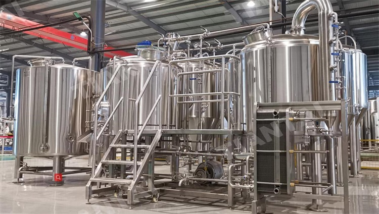 <b>1000L  beer brewing equipment for Romania craft microbrewery</b>