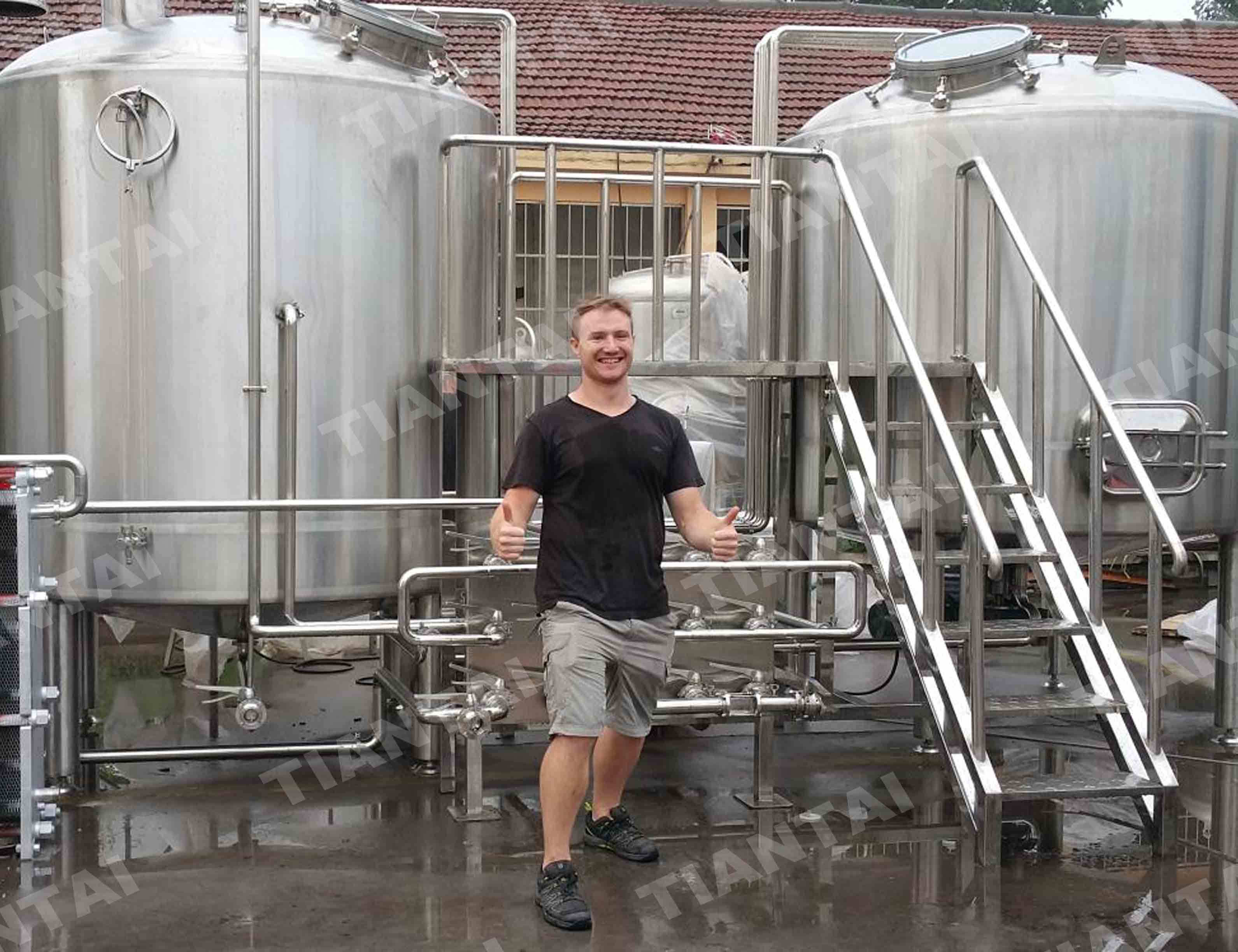 30bbl microbrewery equipment in taiwan area asia for Craft kettle brewing equipment
