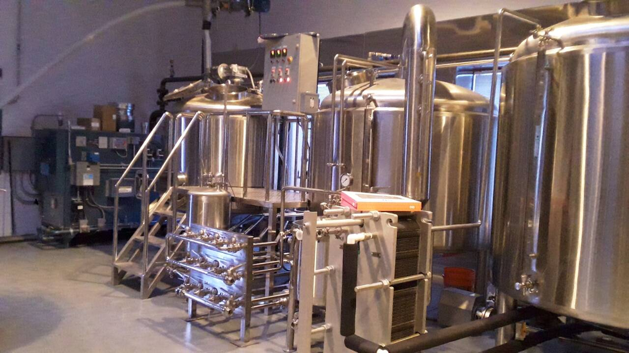 <b>15BBL Microbrewery equipment in USA</b>