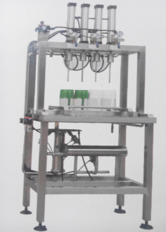 <b>4 head manual beer bottling machine</b>