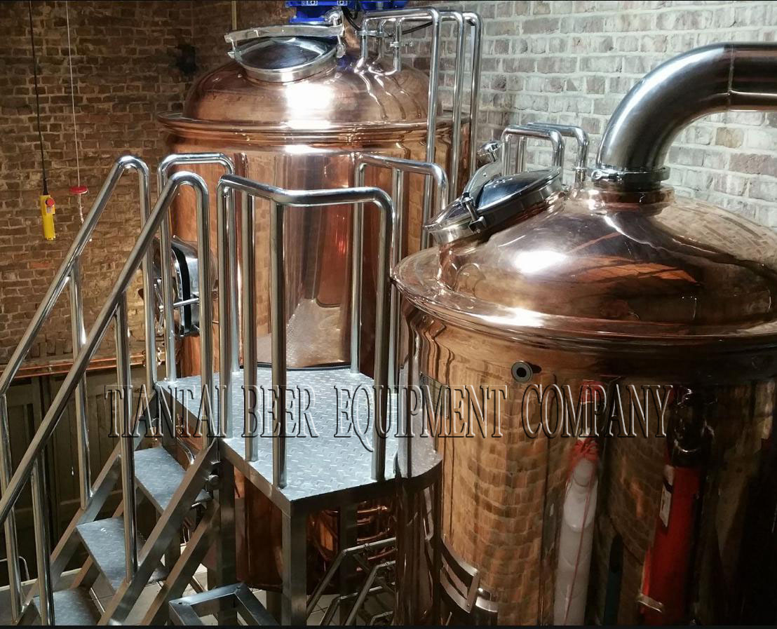 installed brewhouse